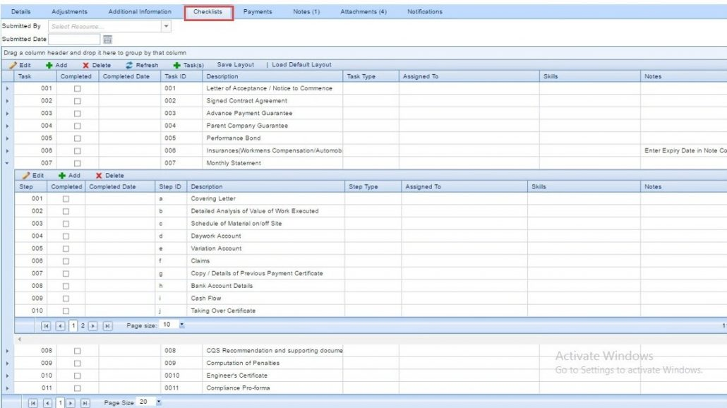 pmweb pmis archives - page 5 of 8 - cmcs, Invoice templates